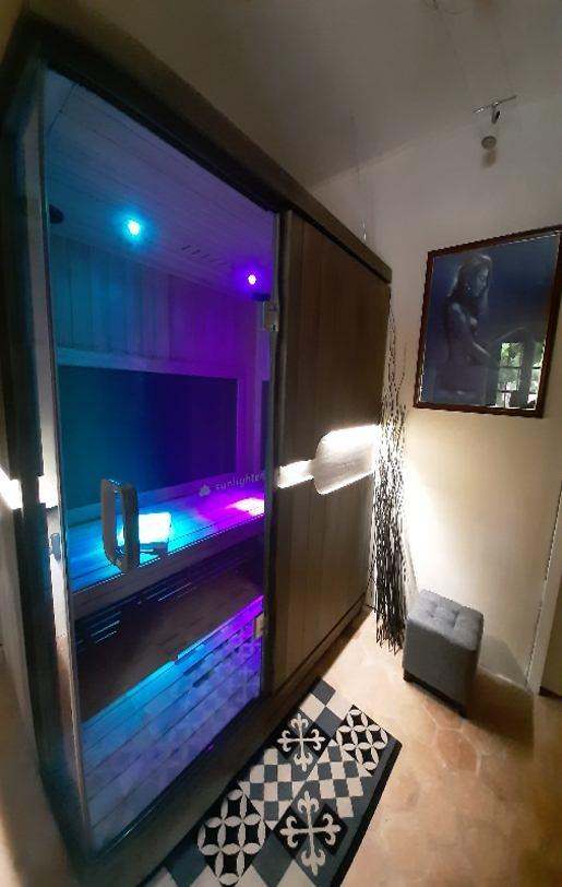 Cabine infrarouge pour les chambres d'hôtes