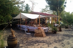 repas mariage feodal chateau aiguilles (1)